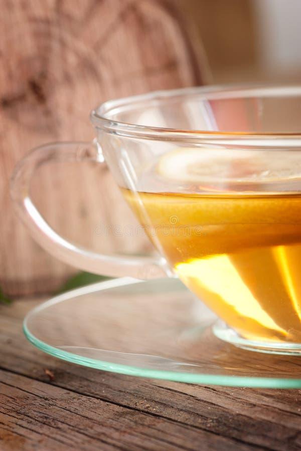 cytryny owocowa herbata obrazy stock