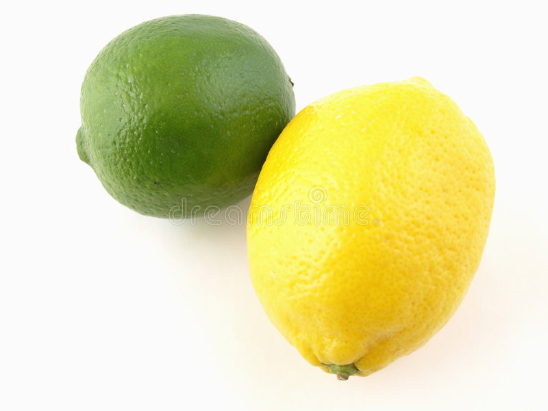 cytryny para lime owoców cytrusowych obraz stock