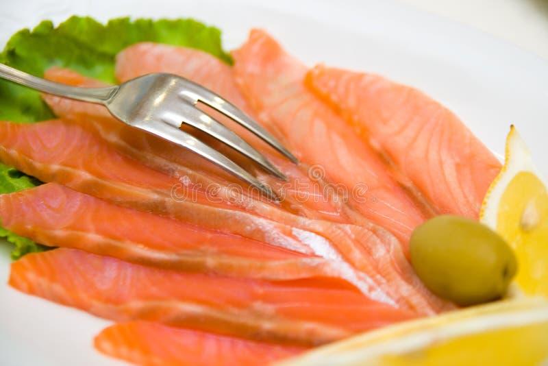Download Cytryny ryb czerwony obraz stock. Obraz złożonej z kucharz - 6351463