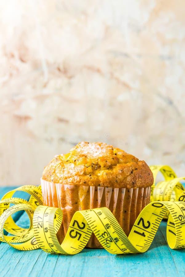 Cytryny słodka bułeczka obrazy stock
