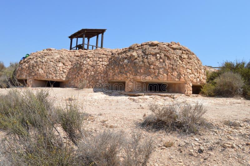 Cywilnej wojny fort fotografia royalty free