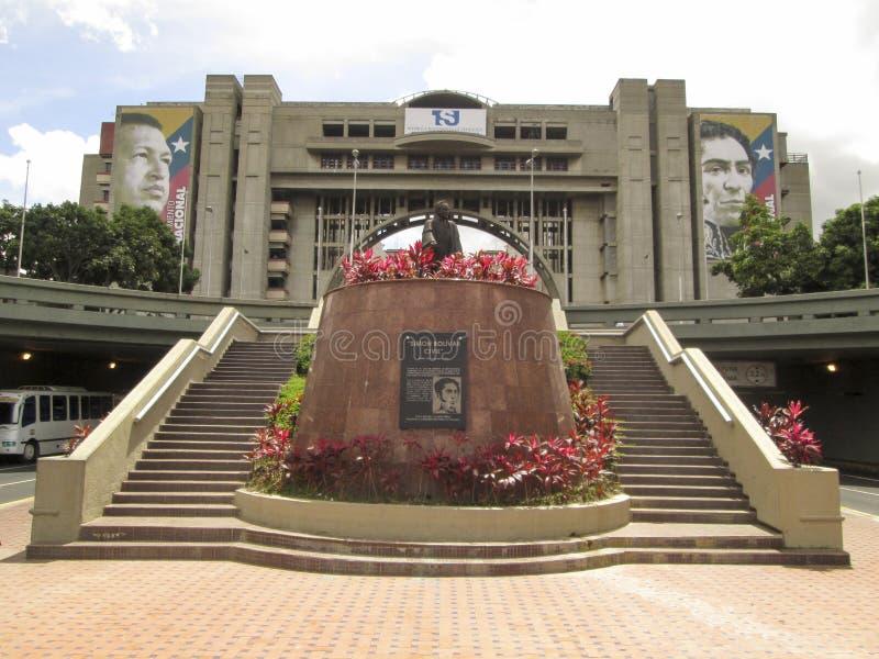 Cywilny bolivar, bolivar Cywilny, bolivar aleja, Avenida bolivar, Caracas, Wenezuela zdjęcia stock