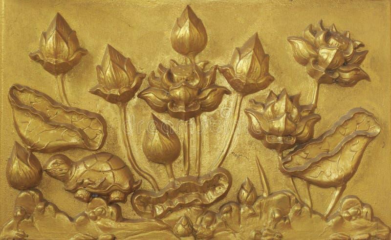 cyzelowanie ściana obraz royalty free