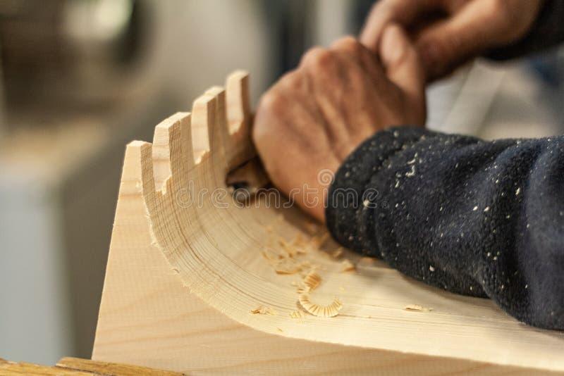 Cyzeluje działania i trociny Woodworking styl życia, organicznie eco projekta życzliwi elementy obrazy royalty free