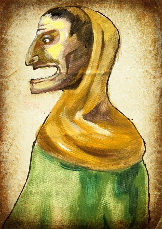 człowieku Ręka obraz Rocznika przerób obrazy royalty free
