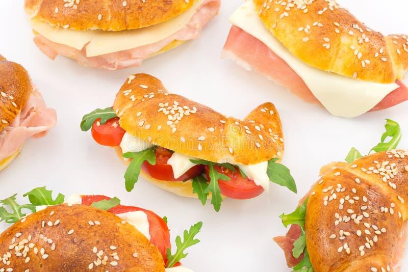 Cząberów croissants obraz royalty free
