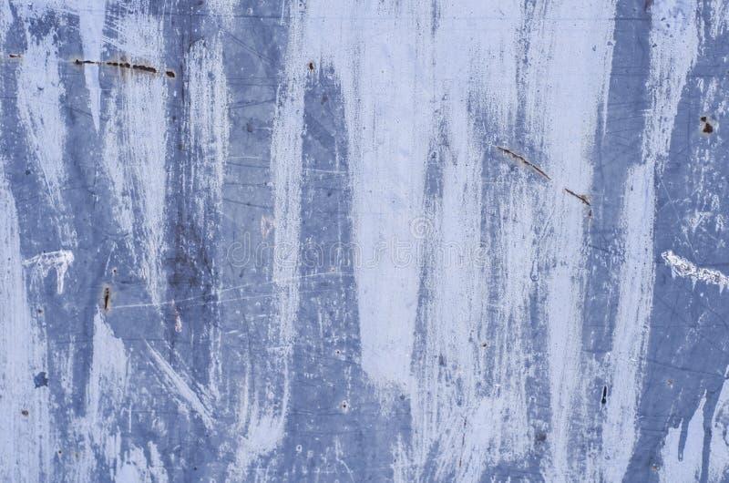 Część brudna stara rdzewiejąca powierzchnia Multicolor metal tekstury plakat E fotografia royalty free