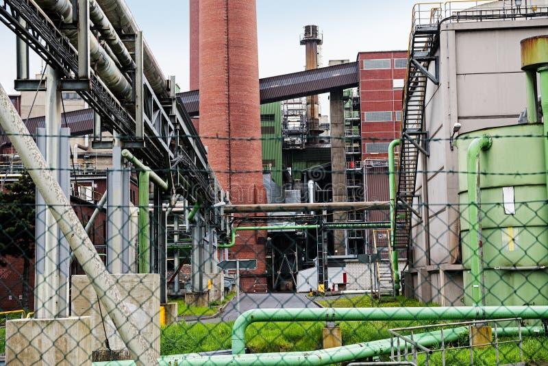 Część elektrownia zdjęcia stock
