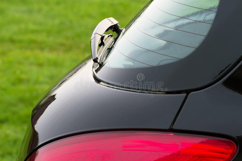 Część mokry samochód obrazy royalty free