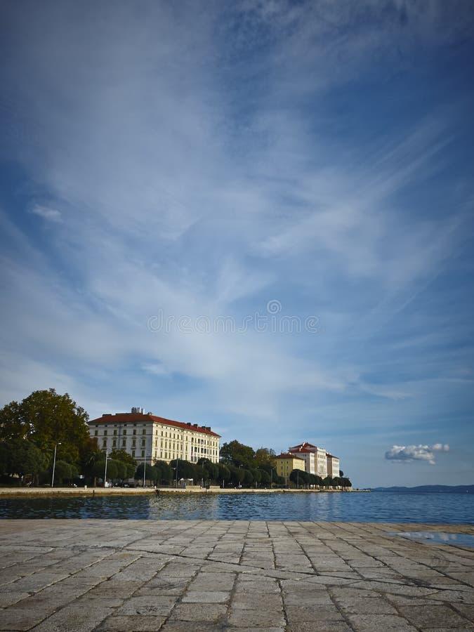 Zadar fotografia stock