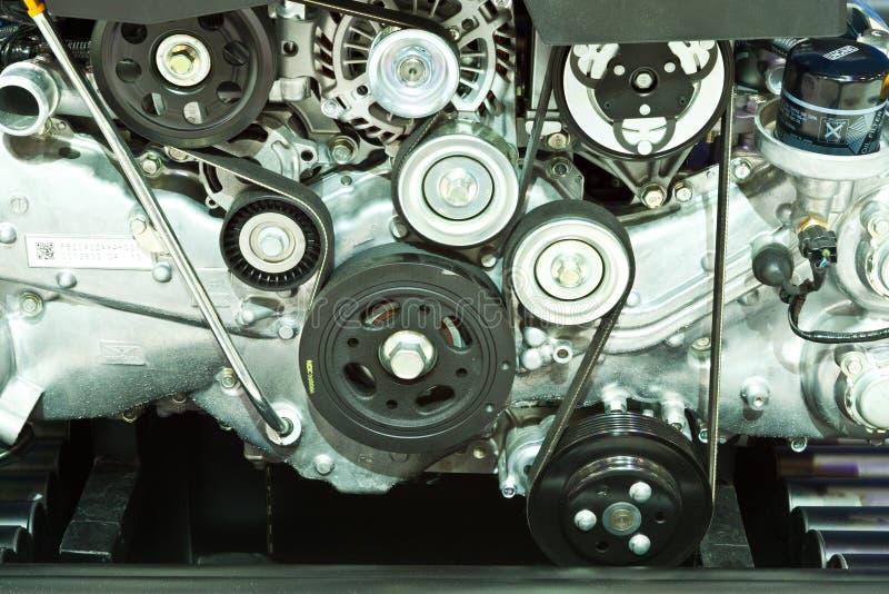 Część samochodowy silnik zdjęcia stock