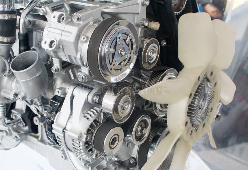 Część samochodowy silnik zdjęcie stock