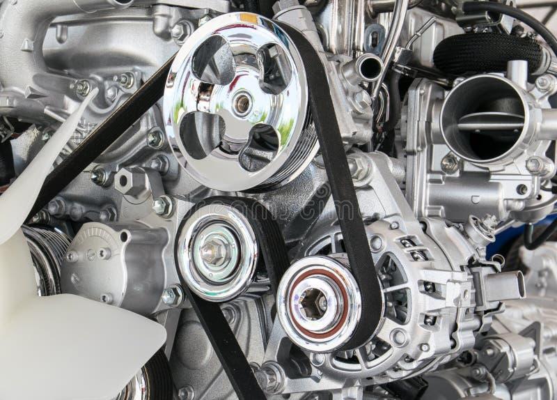 Część samochodowy silnik obrazy stock