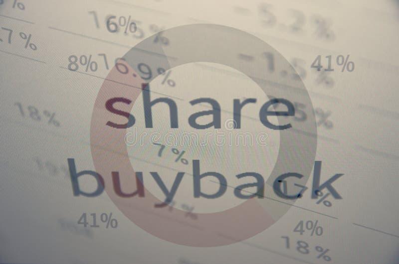 Części buyback fotografia stock