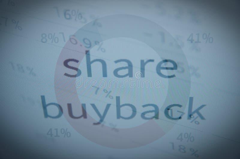 Części buyback zdjęcia stock