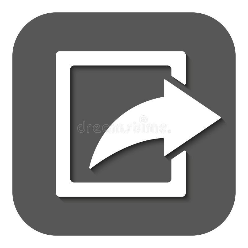 Części ikona Akcja symbol mieszkanie ilustracji