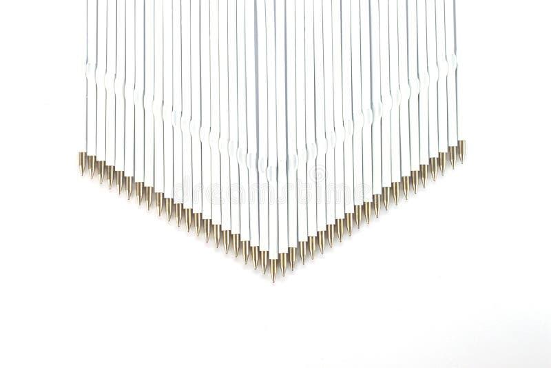 Części zapasowych sedno dla pióra zdjęcie stock