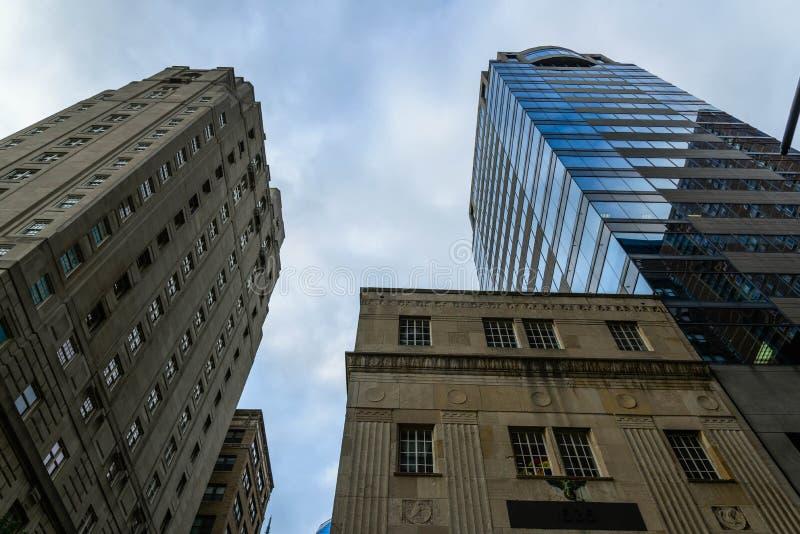 Częściowa linia horyzontu w Filadelfia obrazy royalty free