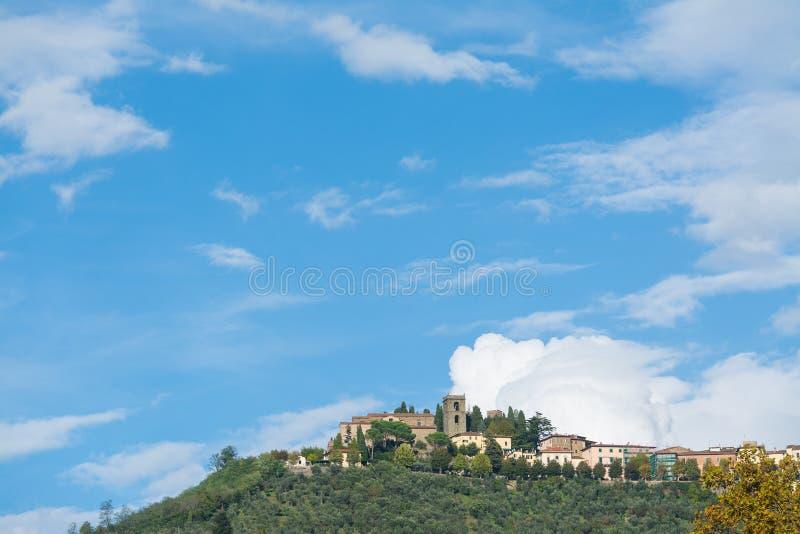 Częściowy widok Montecatini alt fotografia royalty free