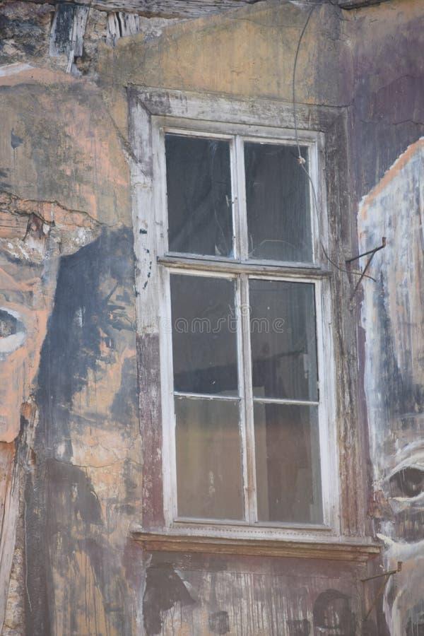Częściowy widok na ramowym domu obraz royalty free