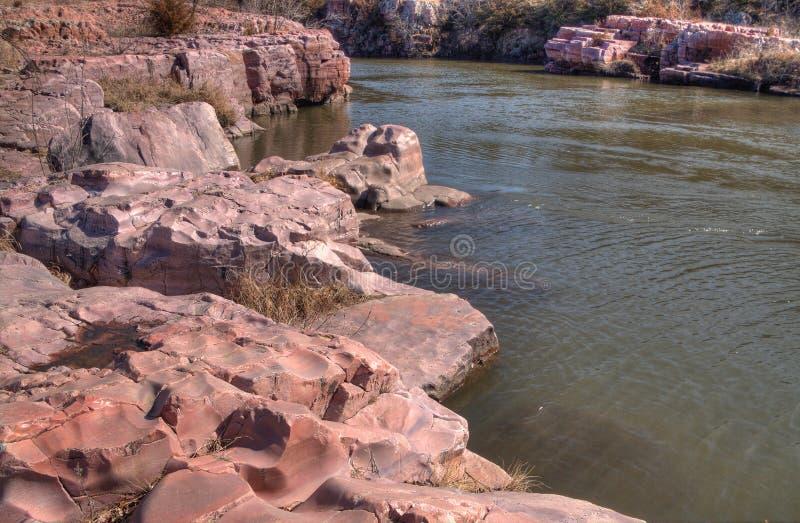 Częstokołu stanu park jest w Południowym Dakota blisko miasteczka mansardy zdjęcie stock