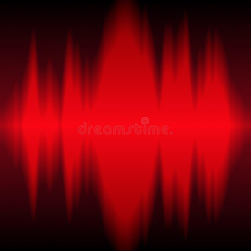 częstotliwość radia royalty ilustracja