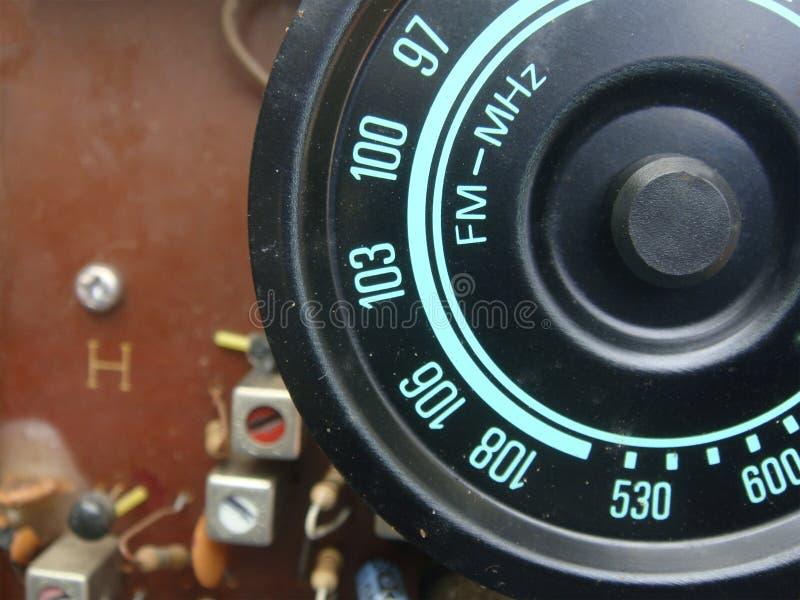 Częstotliwość radiowa pokaz fotografia stock