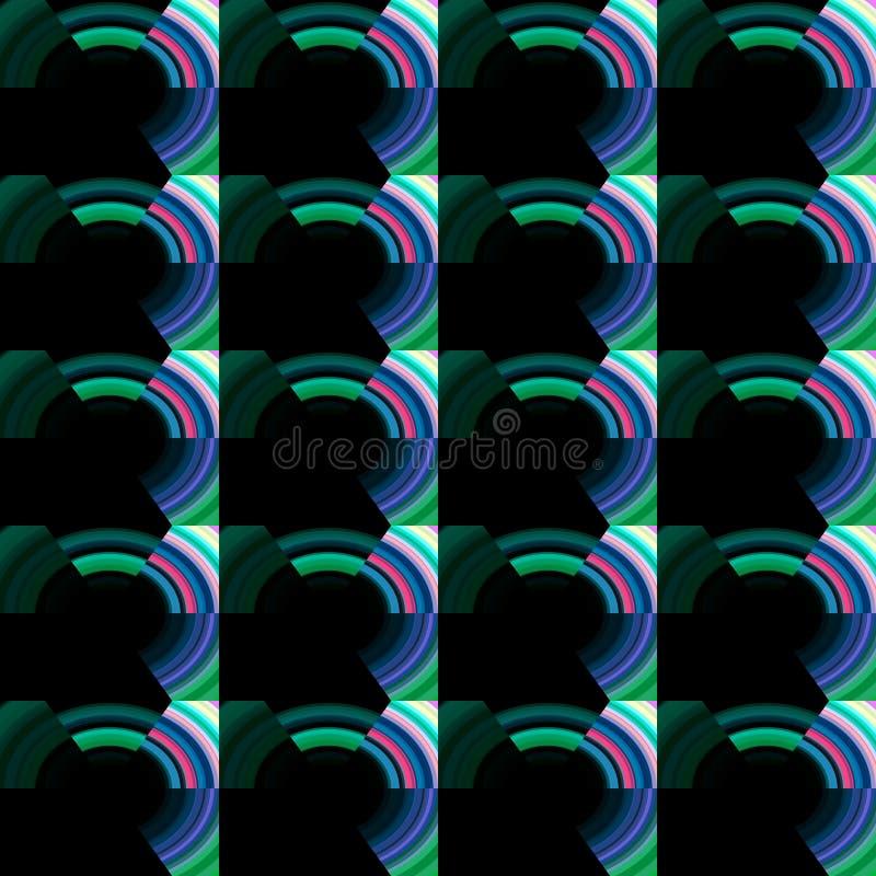 Częstotliwy zmroku wzór ilustracja wektor