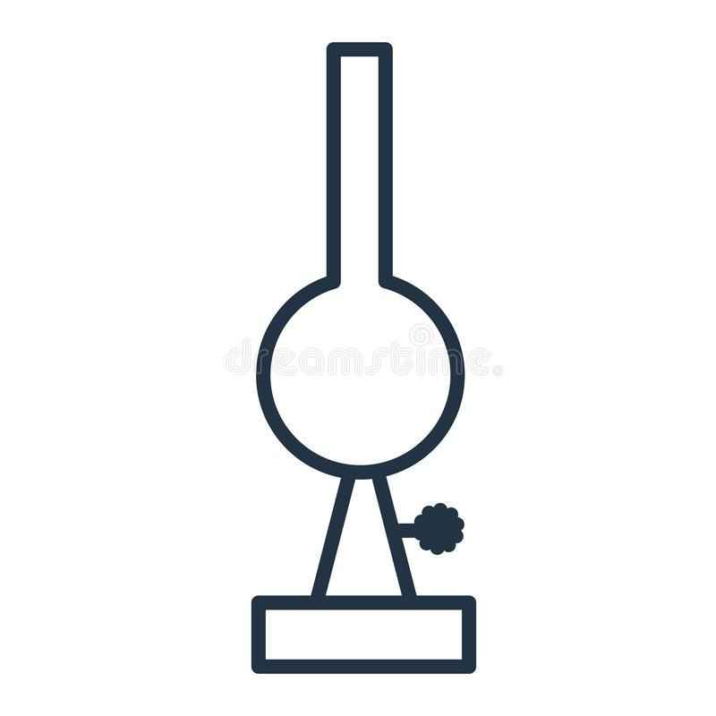 Człapie ikona wektor odizolowywającego na białym tle, tasowanie znak ilustracja wektor