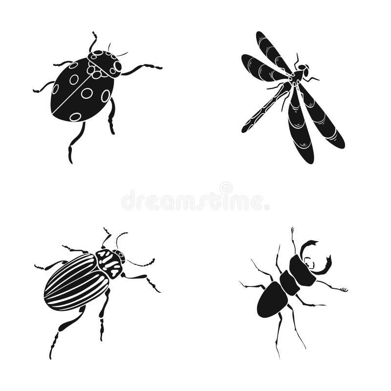 Członkonoga insekt royalty ilustracja