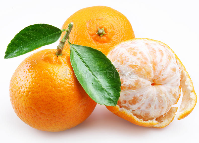członuje tangerine zdjęcie stock