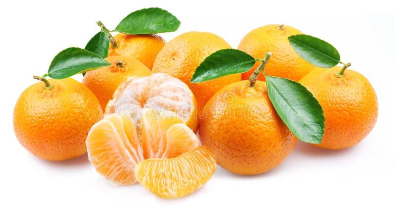 członuje tangerines zdjęcie stock