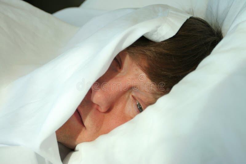 człowiek śpi zdjęcia royalty free