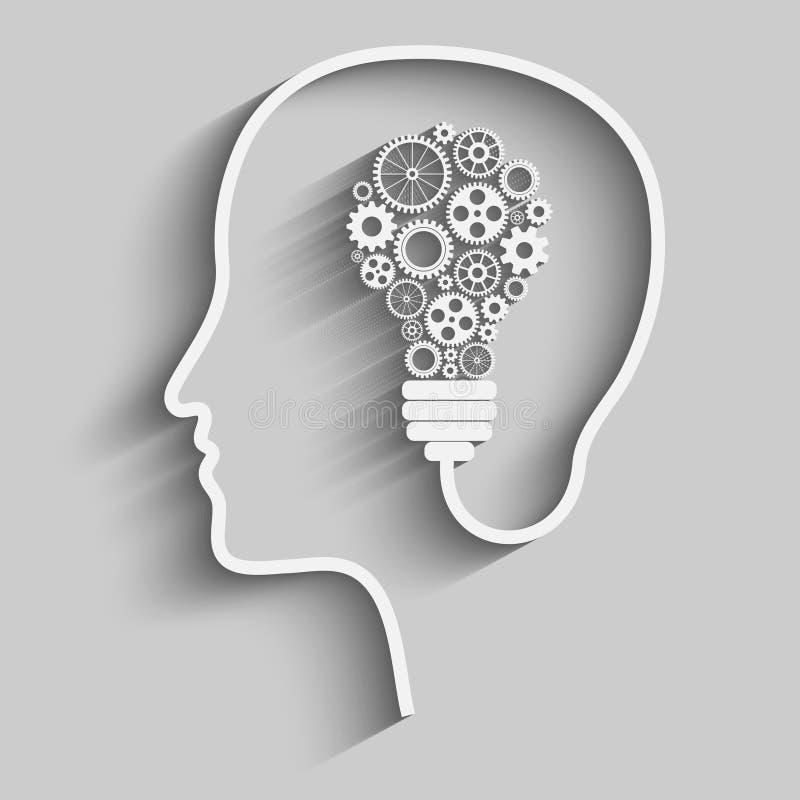 człowiek głowy ilustracji