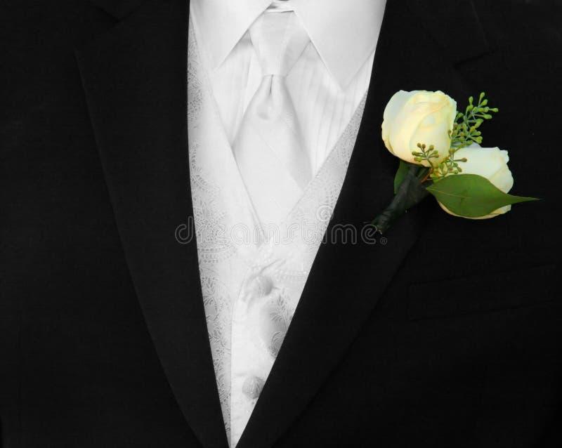 człowiek jest formalne ubiorów fotografia stock