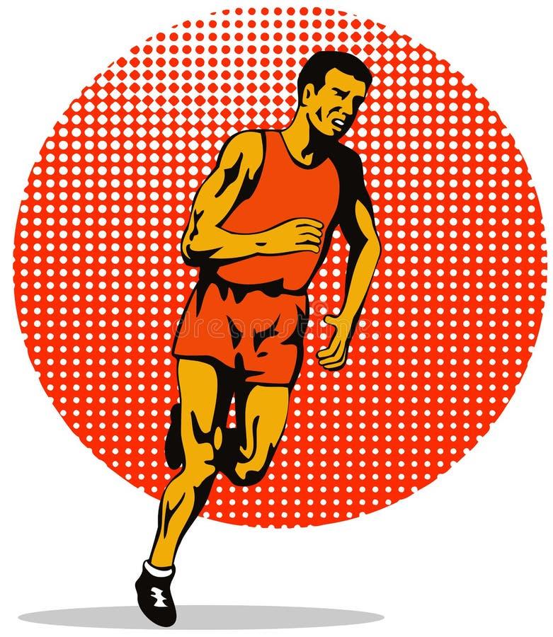 człowiek maratonu, ilustracji