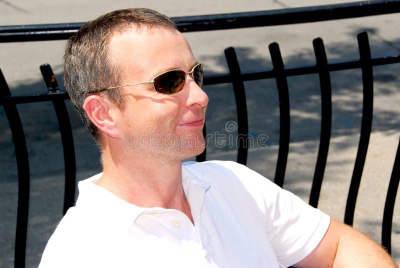 człowiek okulary przeciwsłoneczne zdjęcia royalty free