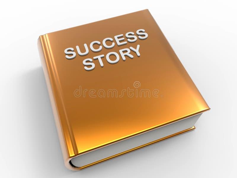 Człowiek sukcesu książka royalty ilustracja