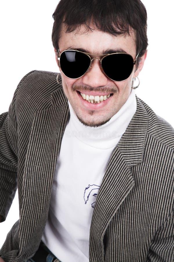 człowiek sunglasse zdjęcie royalty free