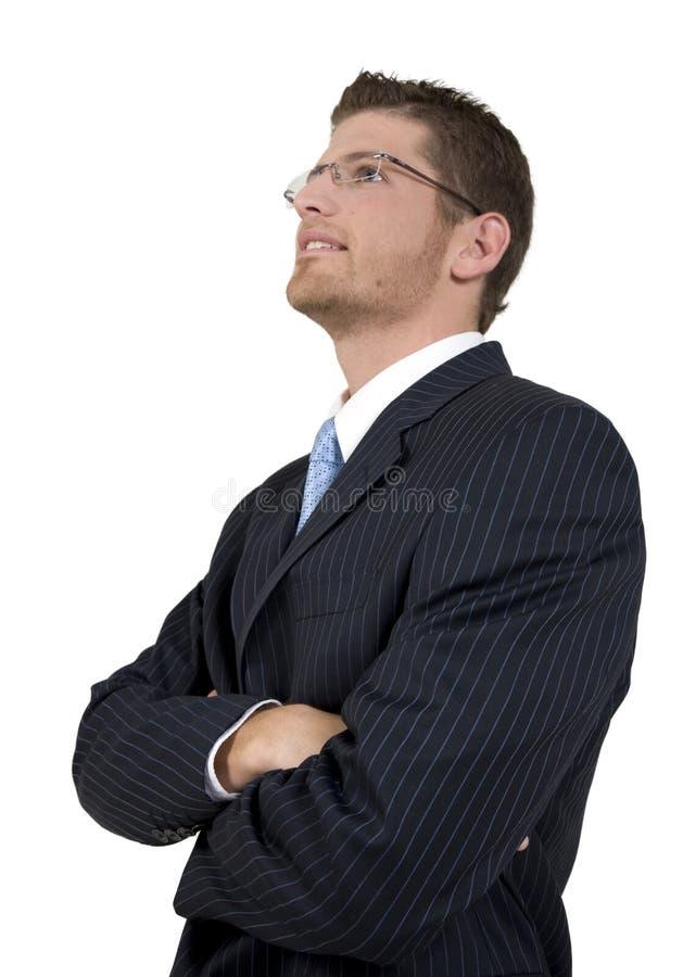 człowiek za elegancka zdjęcia stock