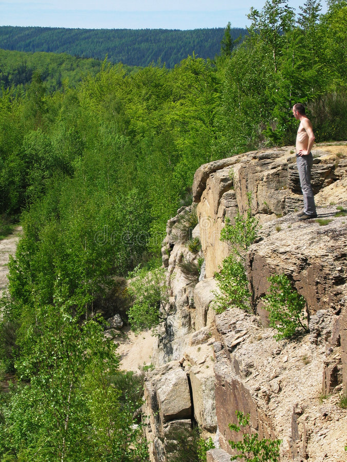 Download Człowiek dzikiej przyrody obraz stock. Obraz złożonej z odtwarzanie - 128327