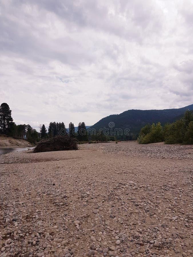 Czajnik rzeka Uroczystymi rozwidleniami zdjęcia royalty free