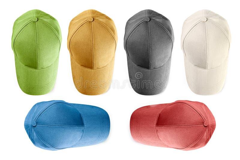 czapki odizolować baseball obrazy stock