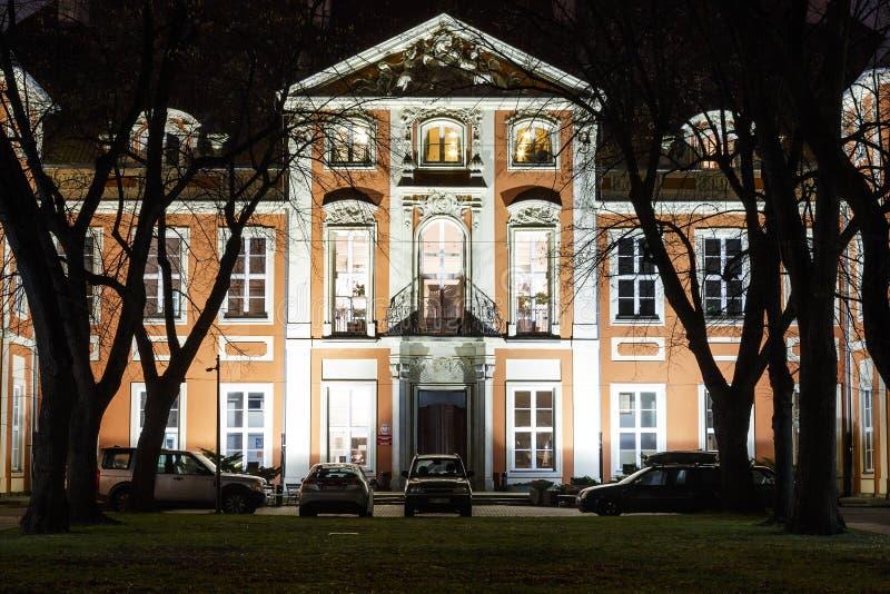 Czapski slott, akademi av konster i Warszawa fotografering för bildbyråer