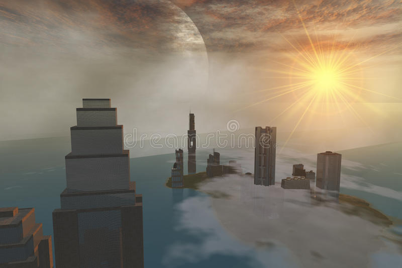 Download Czar City stock illustration. Illustration of clouds - 11869844