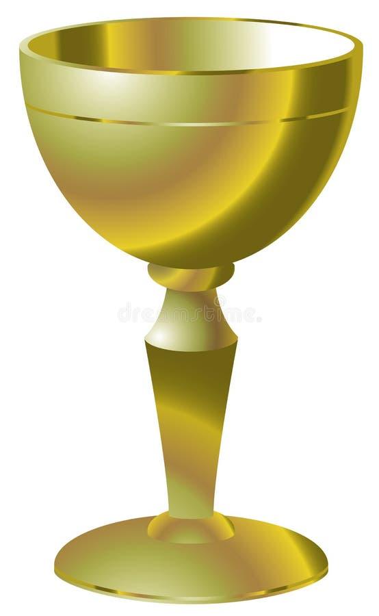 czara złota ilustracji