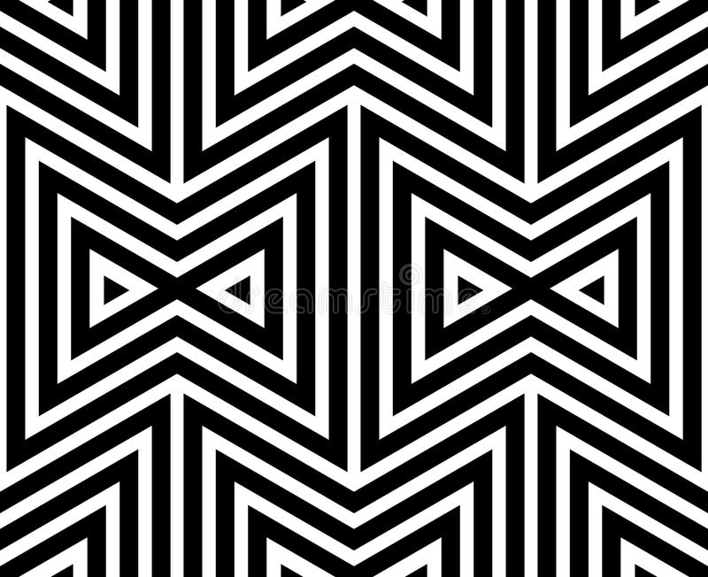 czarna abstrakcyjne white wzoru ilustracji