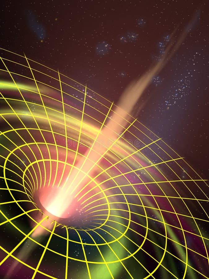 czarna dziura ilustracji
