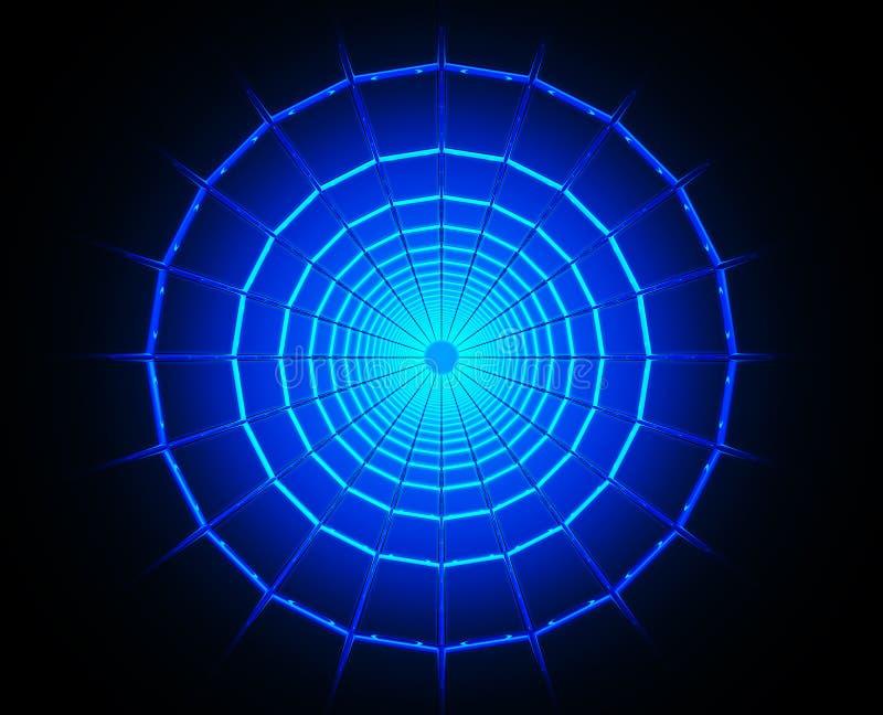 Czarna dziura ilustracja wektor