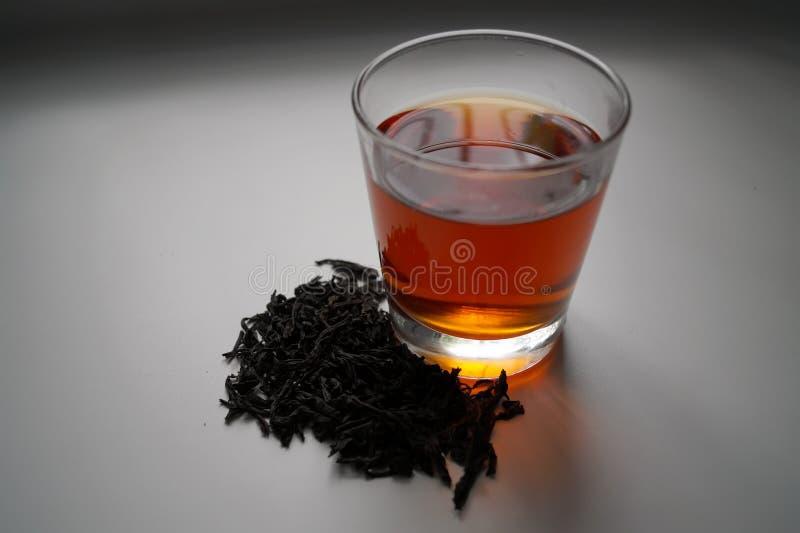 czarna herbata zdjęcie royalty free